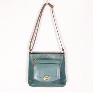 Tignanello Vintage Leather Crossbody & Wallet Set